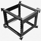 10u Shockmount Rack Flightcase