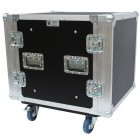 12u Foam Sleeved Rackmount Flightcase