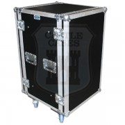 14u Foam Sleeved Rackmount Flightcase