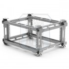 8u Lightweight Shockmount Rack Flightcase