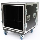10u Foam Sleeved Rack Flightcase