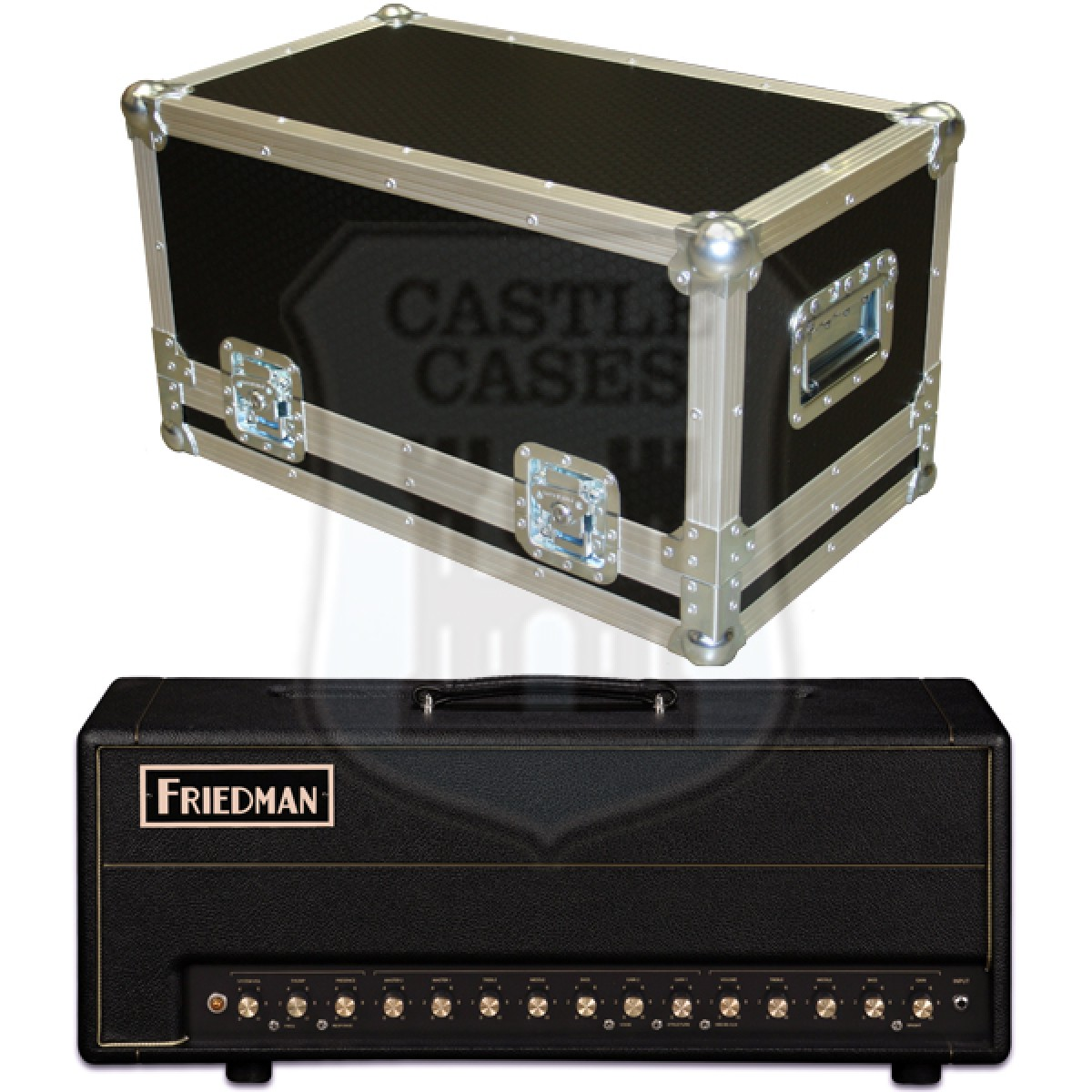 Friedman BE 100 Deluxe Flightcase