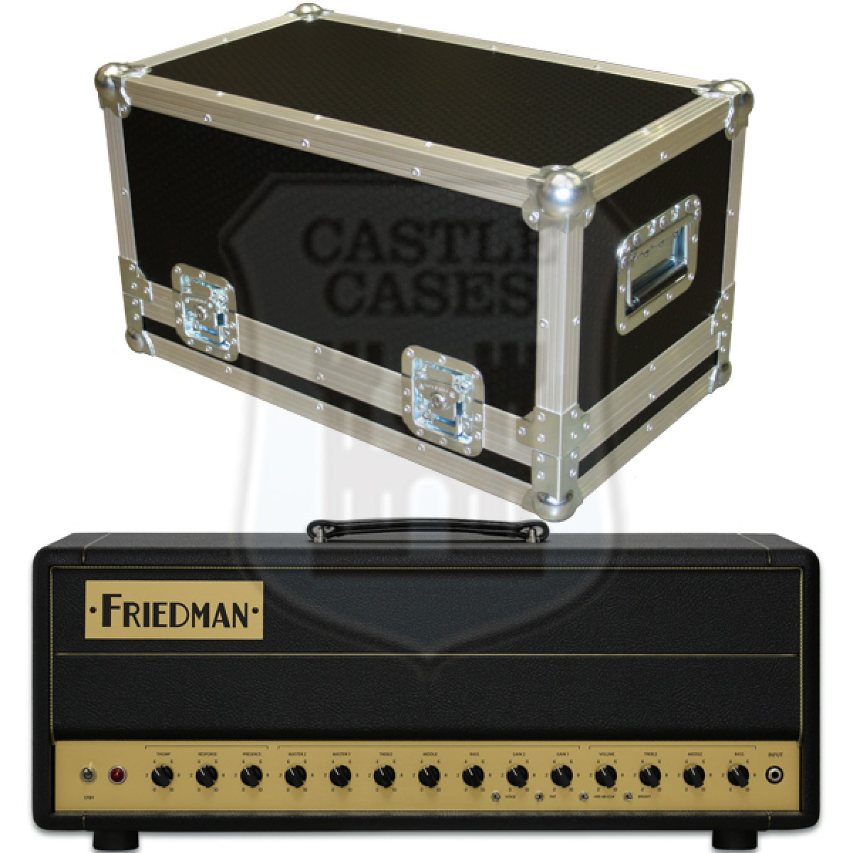 Friedman BE 50 Deluxe Flightcase