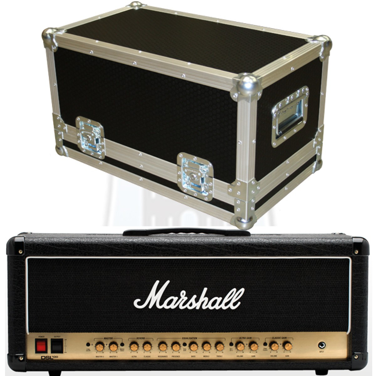 Marshall DSL100HR Flightcase