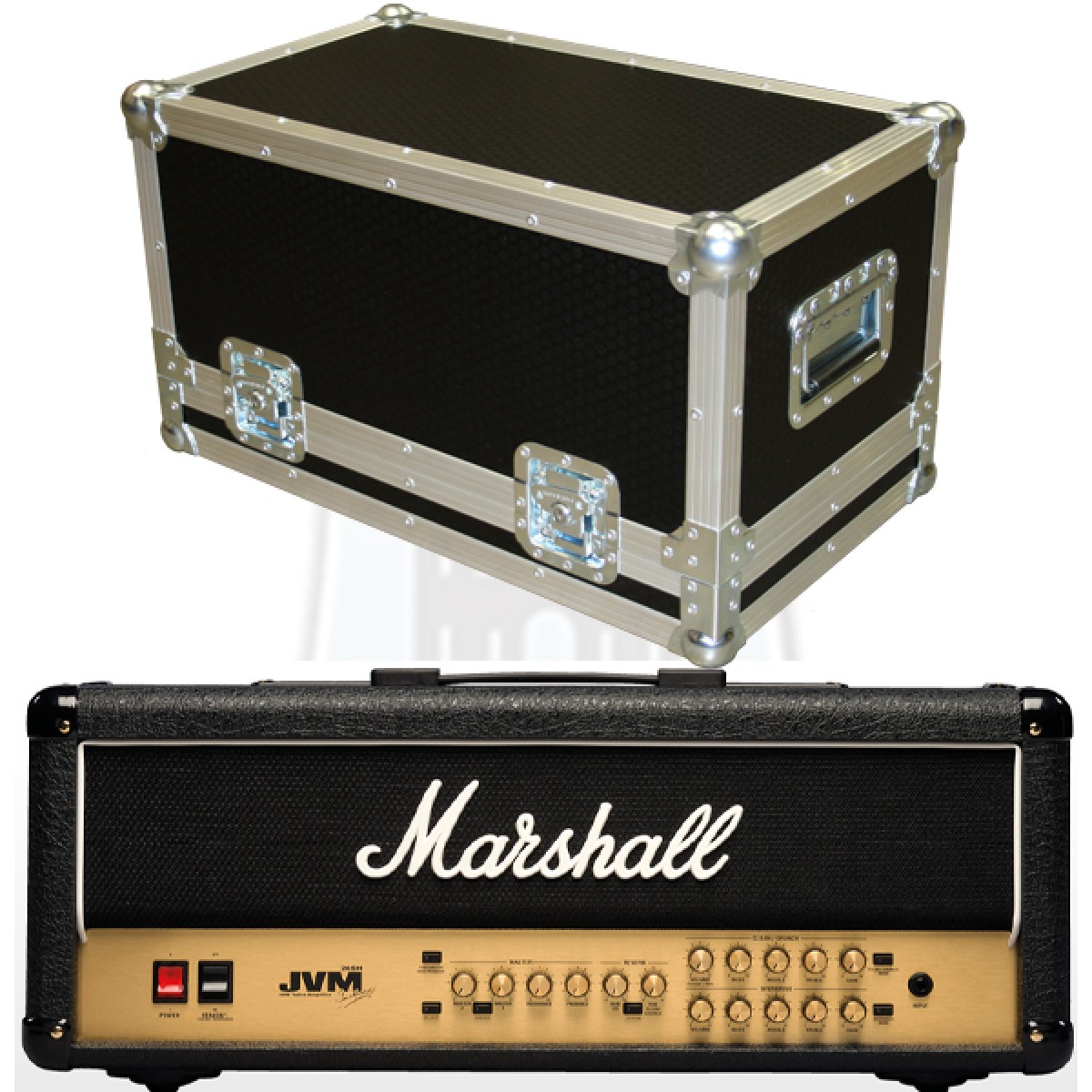 Marshall JVM205H Flightcase