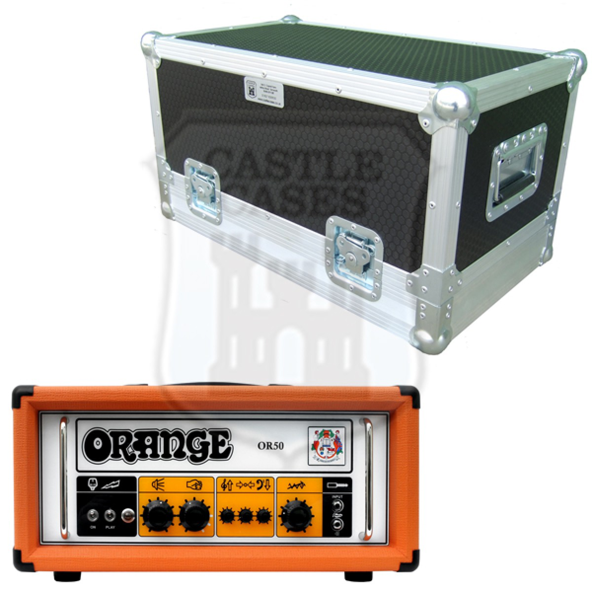 Orange OR 50H Flightcase