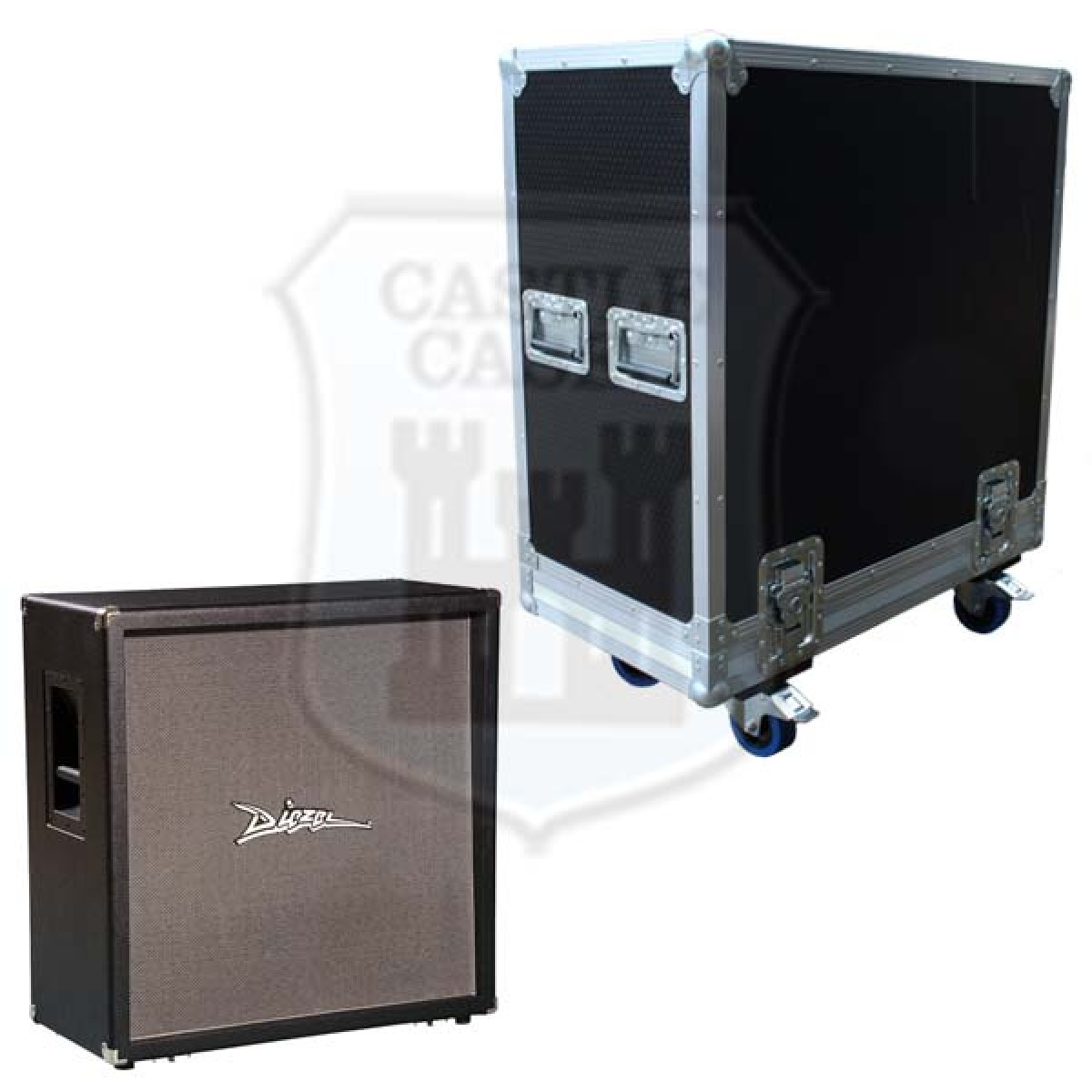 Diezel 412 Rear Loaded Flightcase