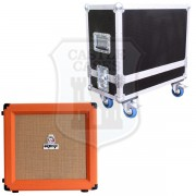 Orange Tiny Terror Combo Flightcase