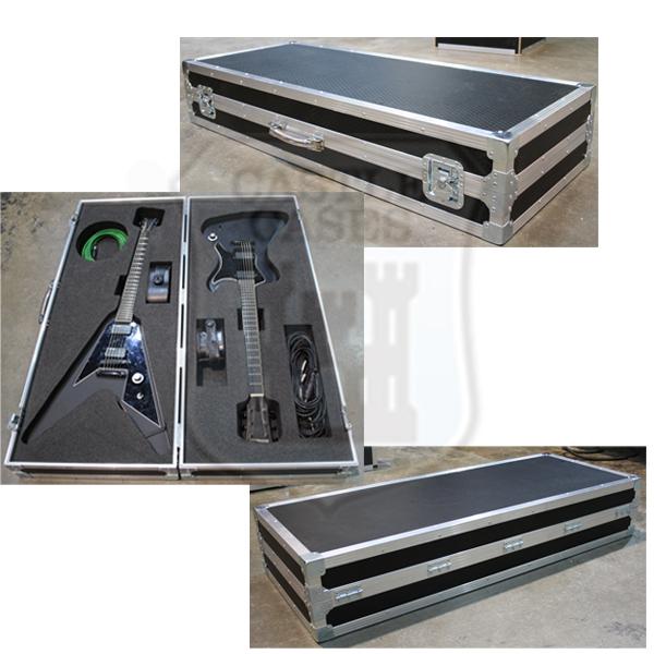 eb8fa510959 Custom Double Guitar Flightcase