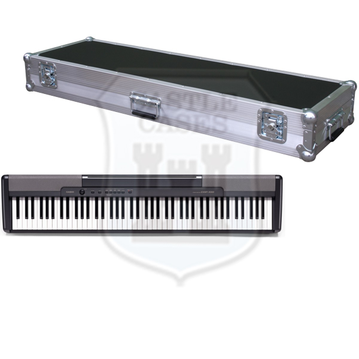 Casio CDP-100 Flightcase