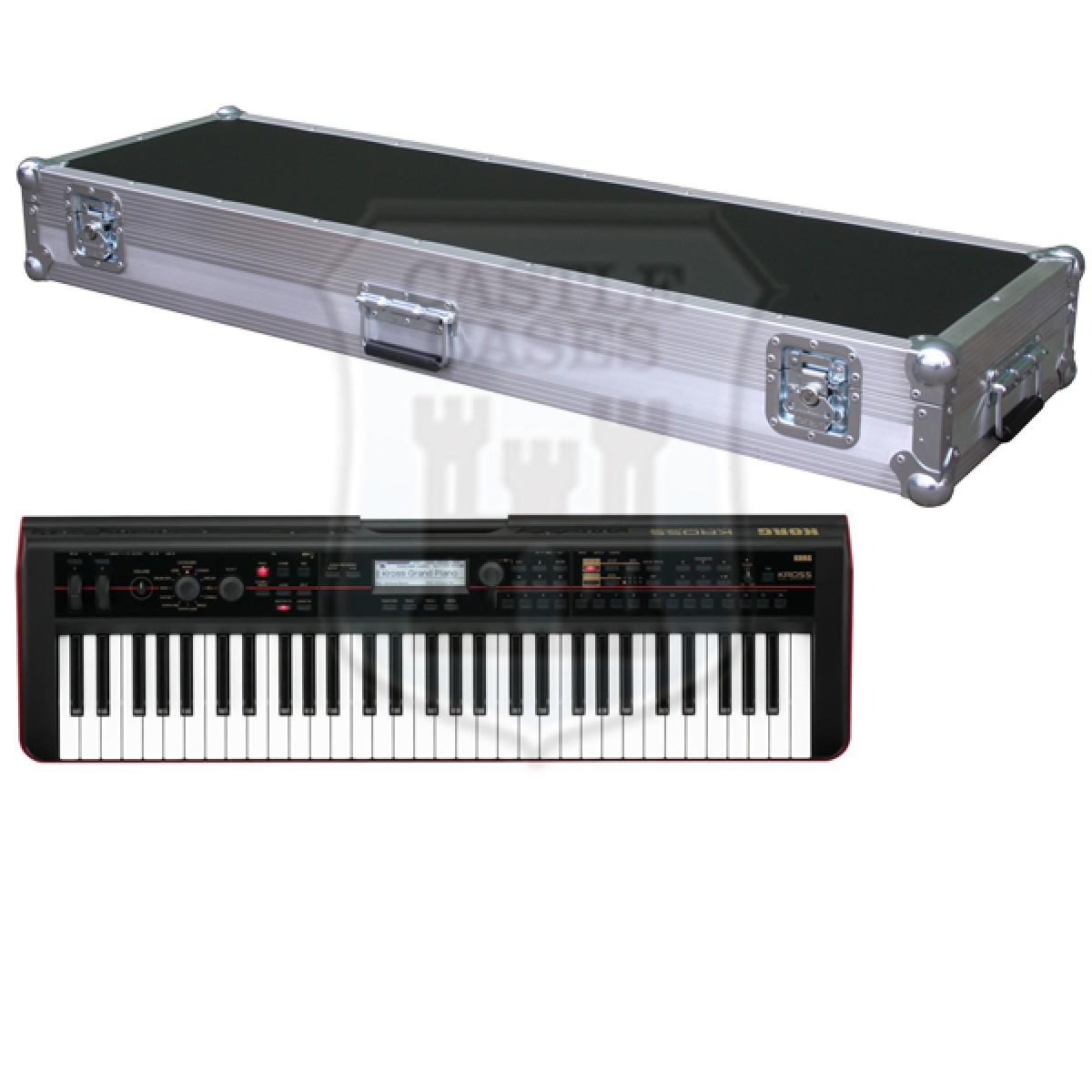 Korg Kross 61 Flightcase