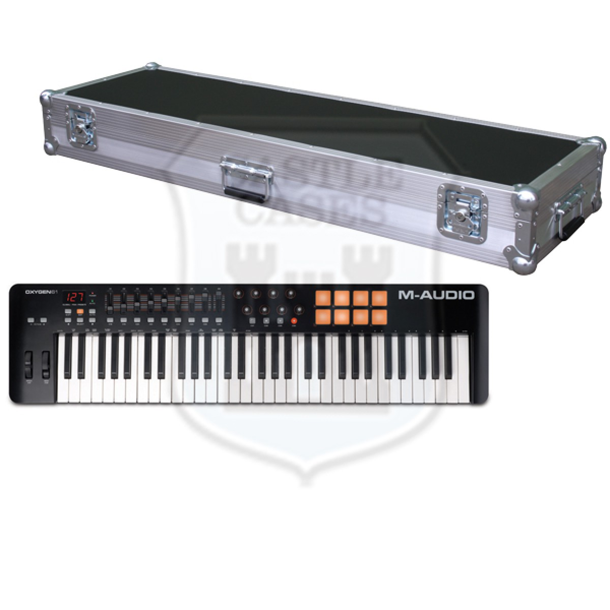 M-Audio Oxygen 61 MK IV Flightcase