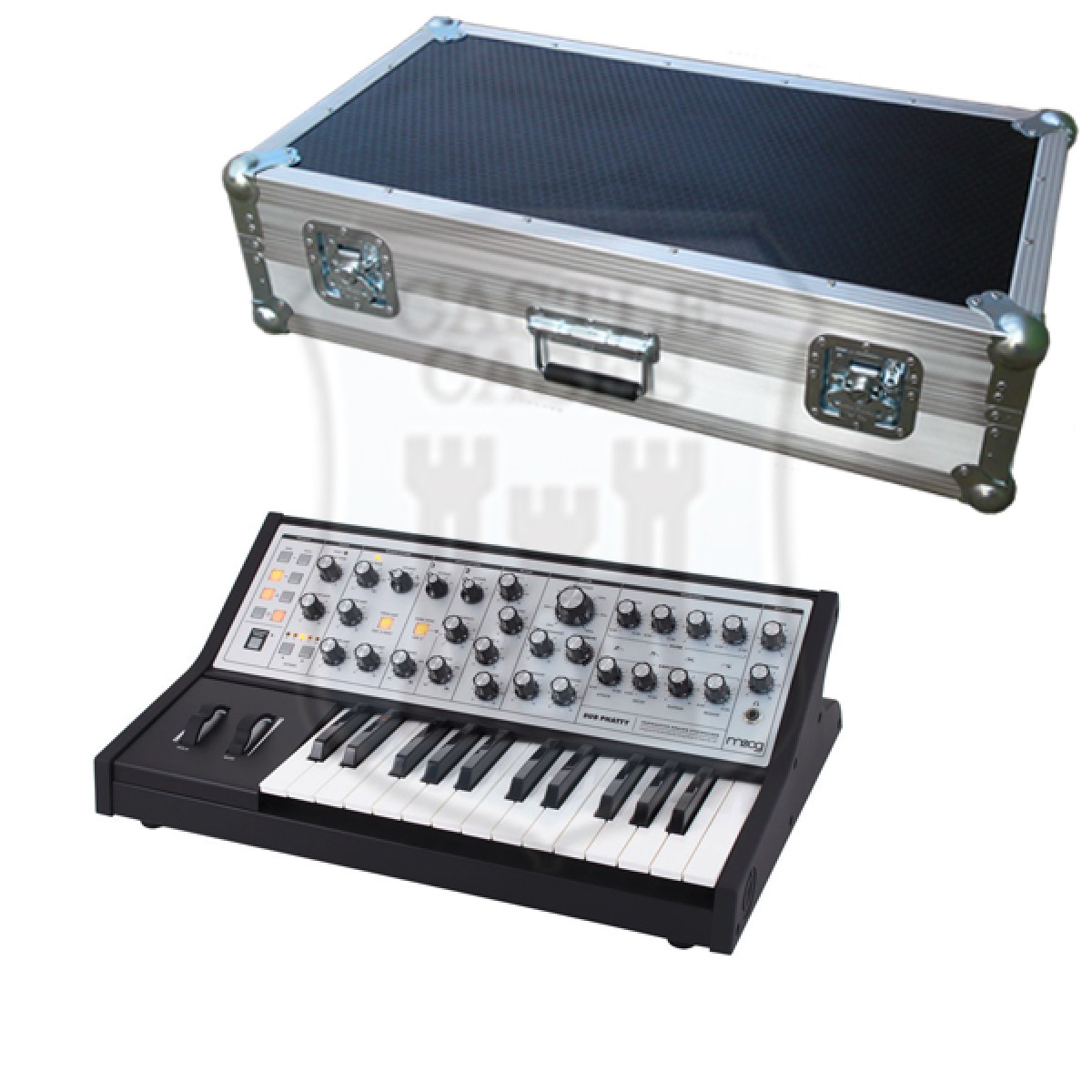 Moog Sub Phatty 25 Flightcase