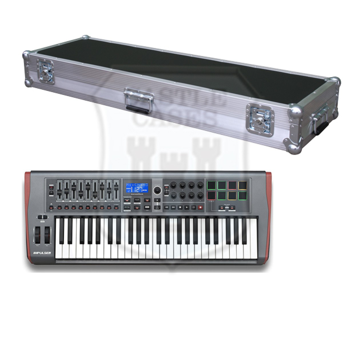 Novation Impulse 49 Flightcase
