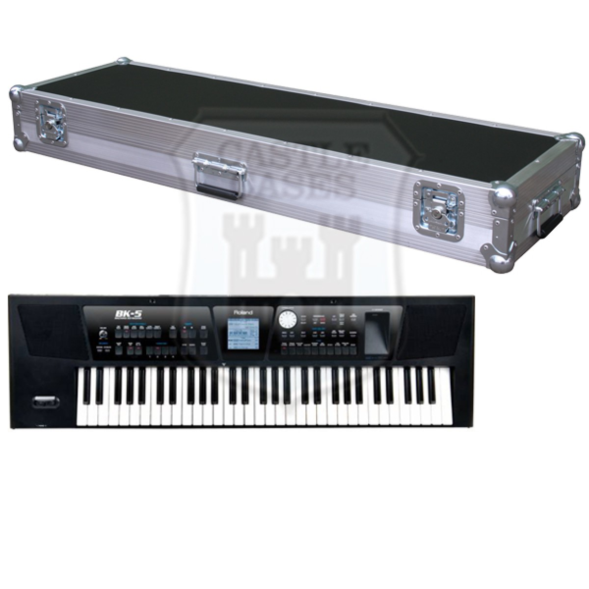 Roland BK-5 Flight Case