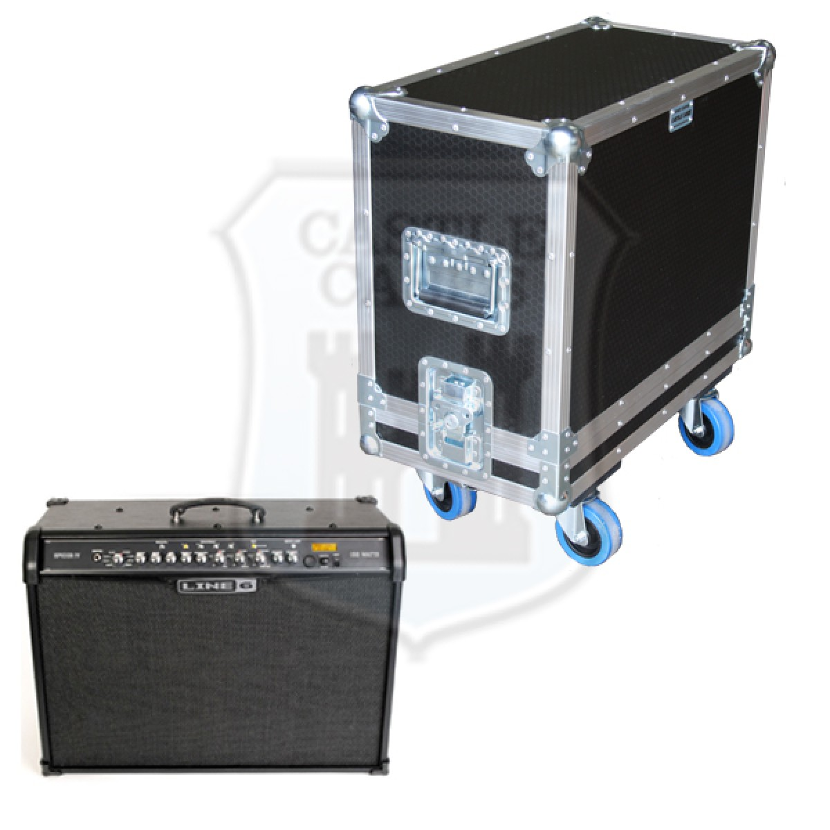 Line 6 Spider VI 150 Flightcase