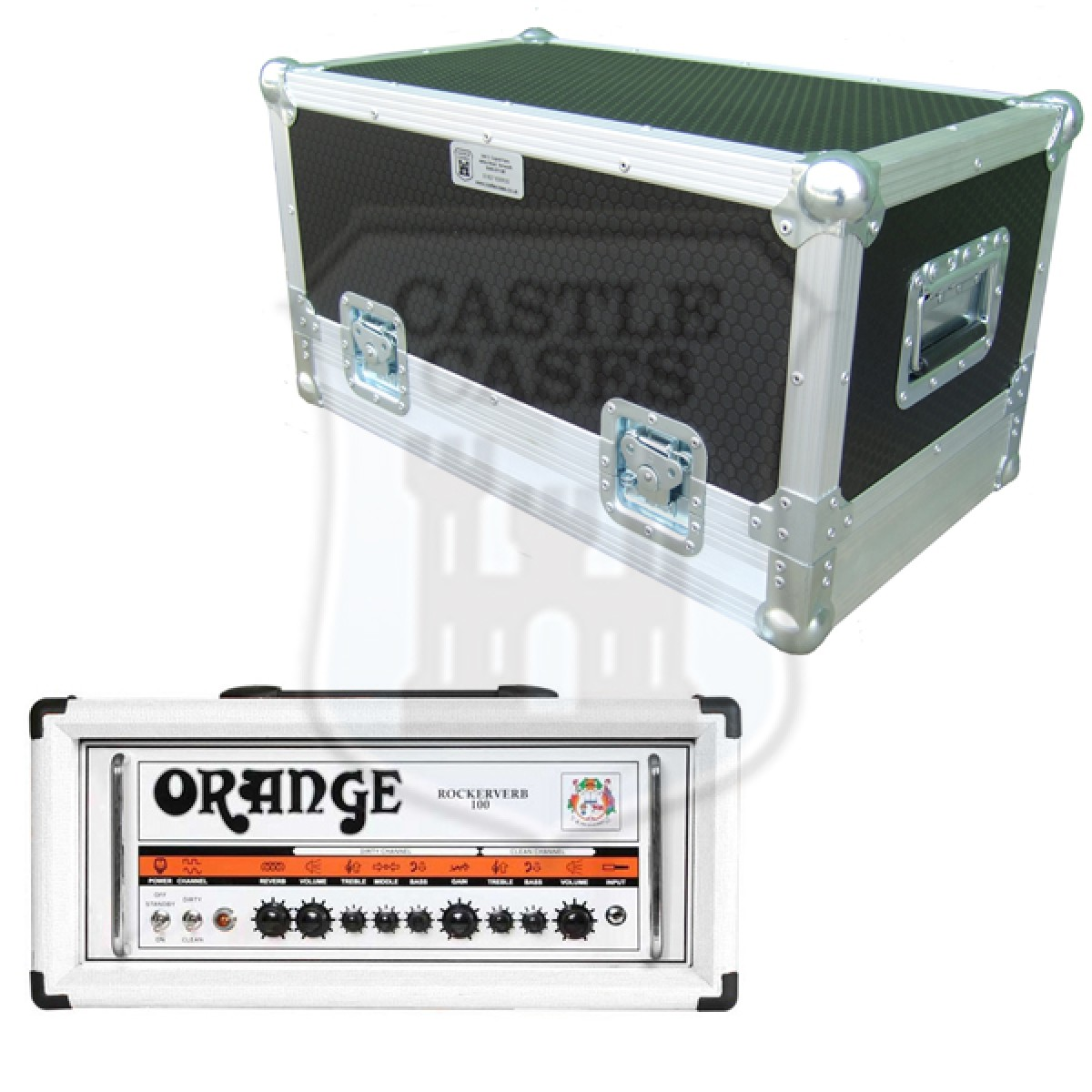 Orange Rockerverb 100 Flightcase