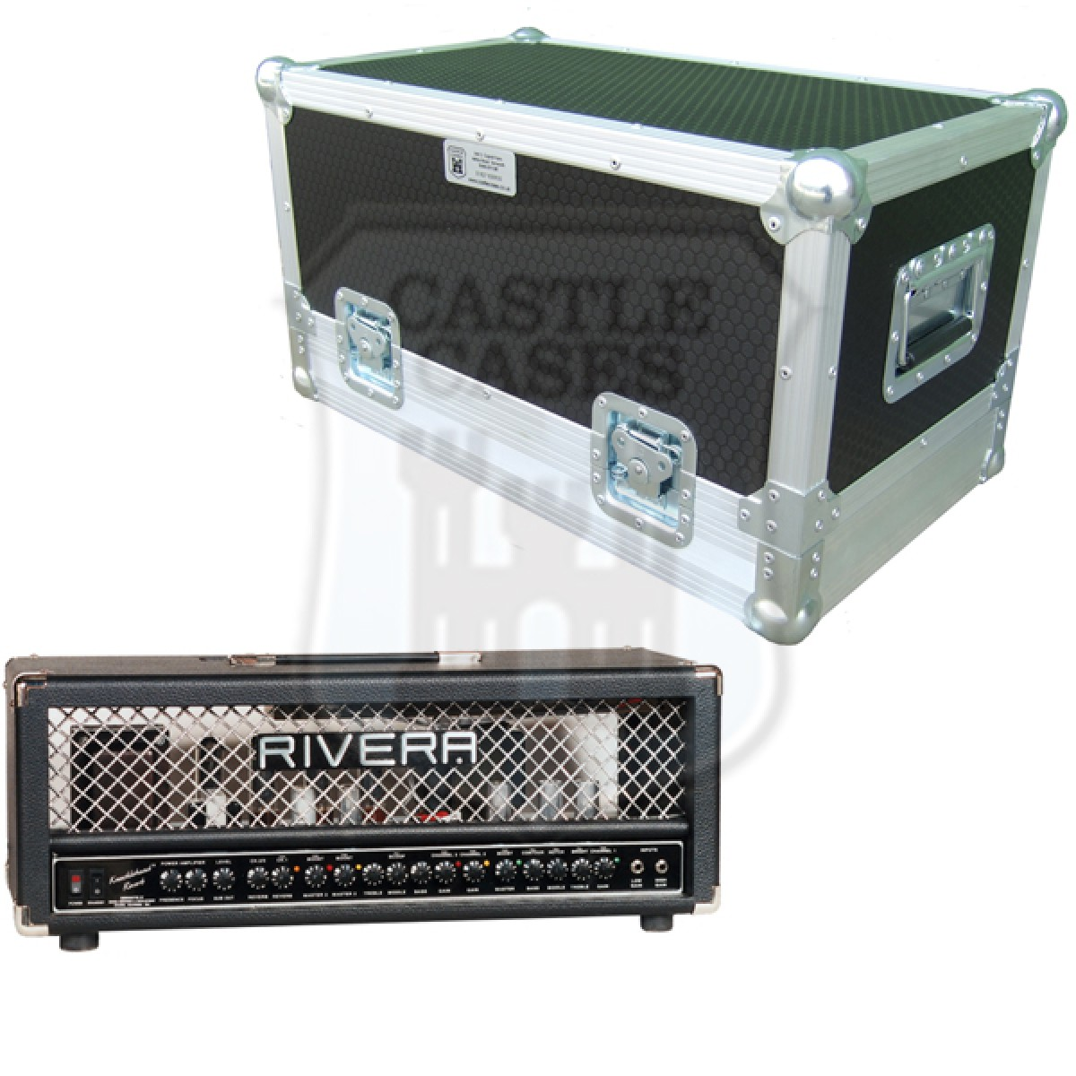 Rivera Knucklehead Rev Flightcase
