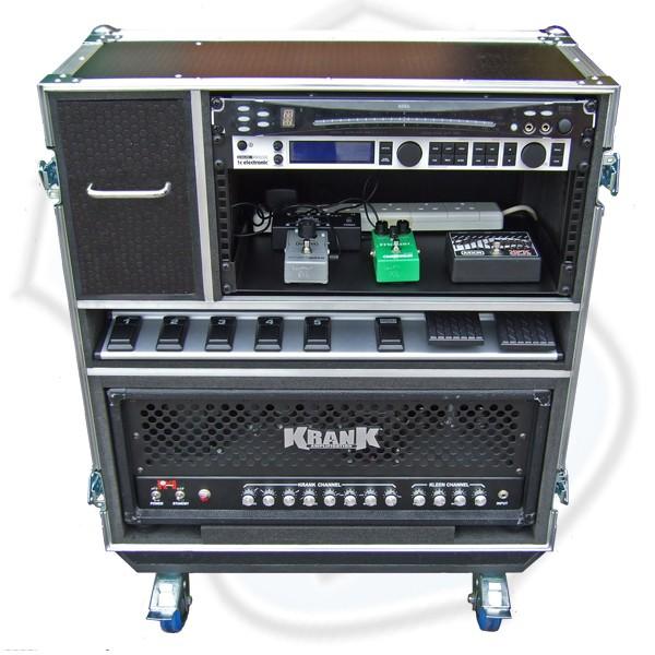 Live In Amp Rack Flightcase