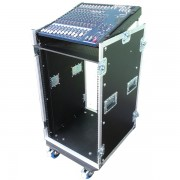 14u Mixer Console Rack Flightcase