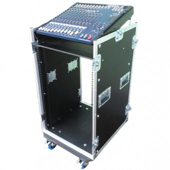10u Mixer Console Rack Flightcase