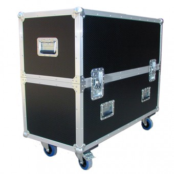 "Double 43"" Screen Flightcase"