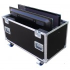"Double 58"" Screen Flightcase"