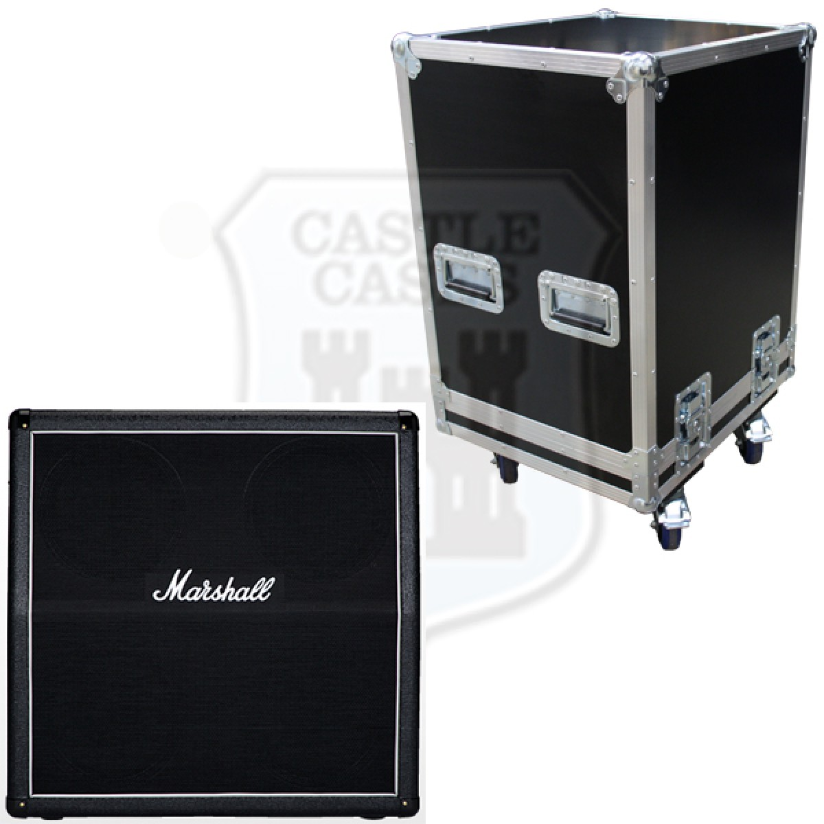 Marshall MX412A Flightcase