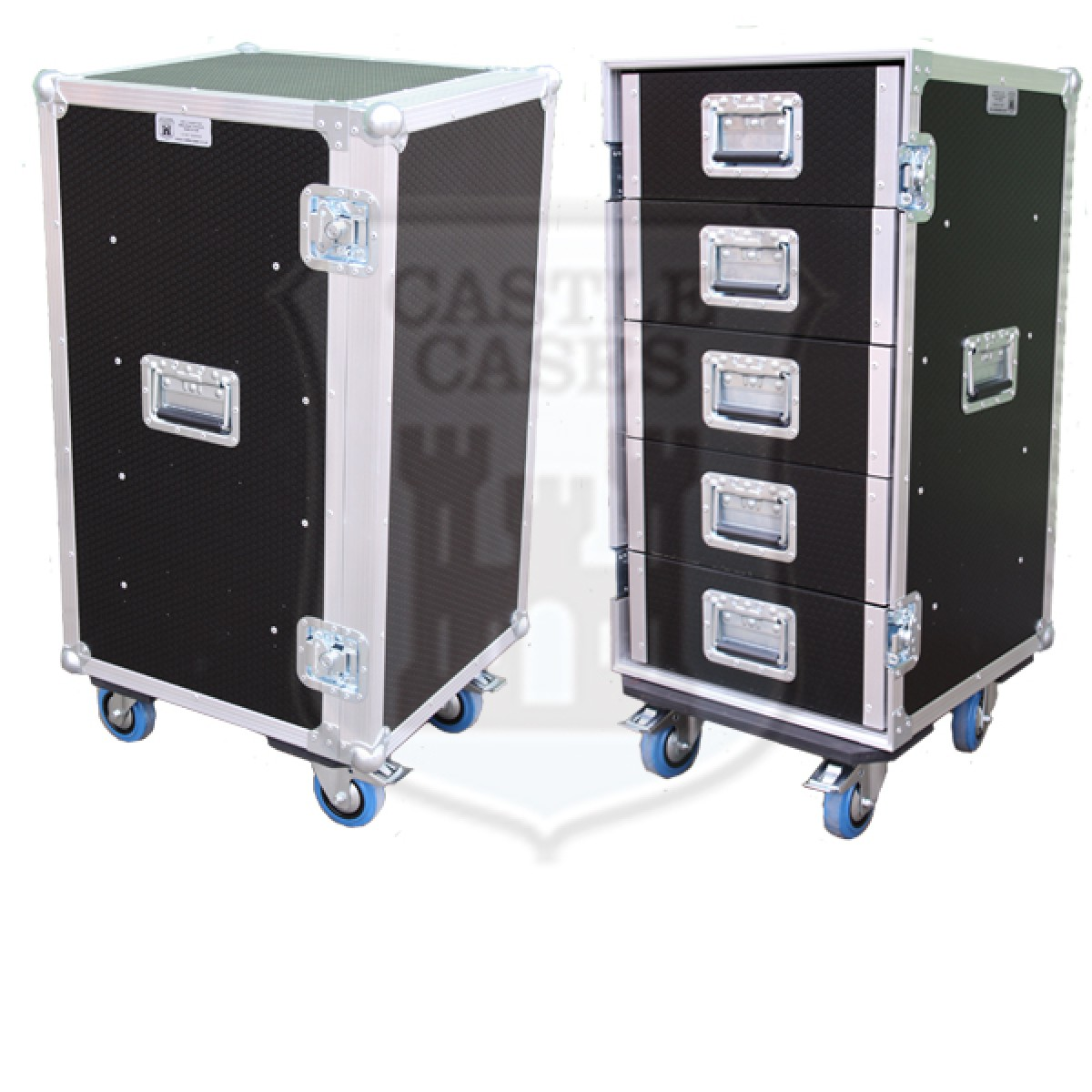 5 Drawer Tech Flightcase