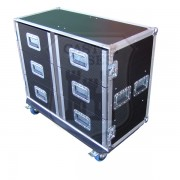 6 Drawer Tech Flightcase