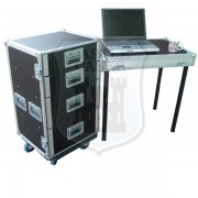 4 Drawer Tech Flightcase with Table